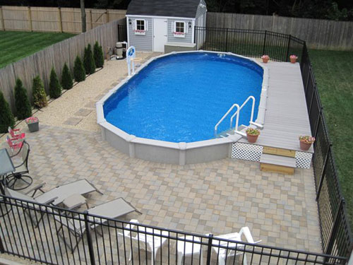 Above ground pools pool maintenance leak detection and for Cheap above ground pool packages