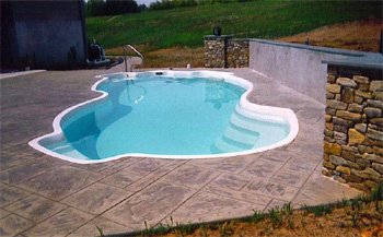 Fiberglass Pools Fiberglass Resurfacing Pool